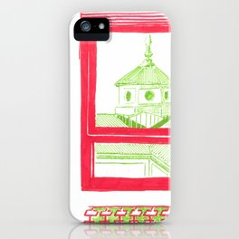 home view iPhone Case