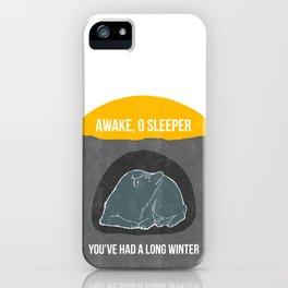 Awake O Sleeper iPhone Case