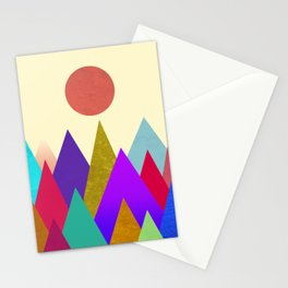 Abstract #441 Stationery Cards