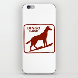 Dingo Flour iPhone Skin