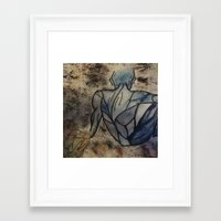 anatomy Framed Art Prints featuring Anatomy  by Crimson-daisies