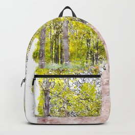 Autumn Alley Backpack