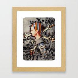My Precious   Collage Framed Art Print