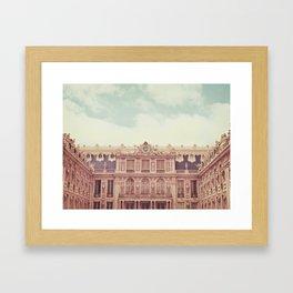 Chateau Versailles Framed Art Print