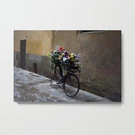 Fiets. Florence. Metal Print