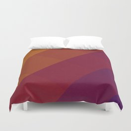 Square Abstract Gradient Art Duvet Cover