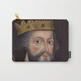 Vintage William The Conqueror Portrait Carry-All Pouch