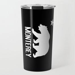 Monterey and California Bear Travel Mug