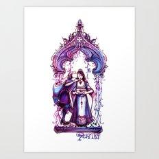 Portia - The Merchant of Venice - Shakespeare Illustration Art Art Print