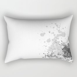 Passion Grey Rectangular Pillow