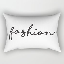 Fashion Prints, Fashion Wall Art, Teen Room, Saloon Sign, Affiche Scandinave, Fashion Typography Rectangular Pillow