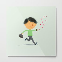 Boy in Love #3 Metal Print