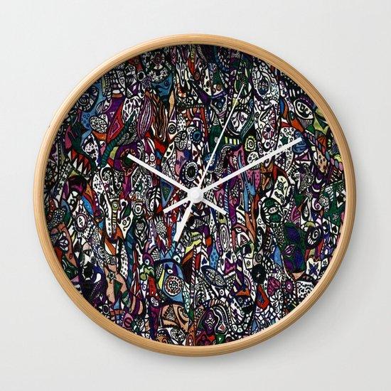 Spelunking Wall Clock