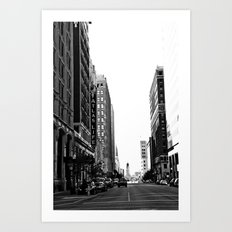 Downtown Tulsa  Art Print