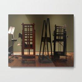 Easels by David Hohmann Metal Print