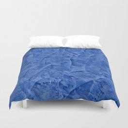 Beautiful Vibrant Light Blue Plaster #society6 #bluedecor #blue Duvet Cover