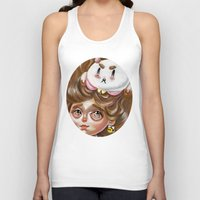 bee and puppycat Tank Tops featuring A Bee and her PuppyCat by Kristin Frenzel