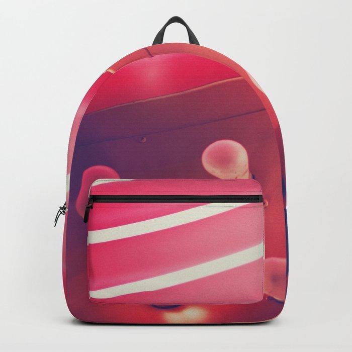 Pink Neon Glow Backpack