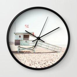 Somewhere in Cali Wall Clock