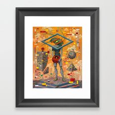 Uncanny I Framed Art Print