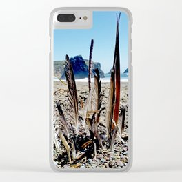 Castle of Feathers Clear iPhone Case