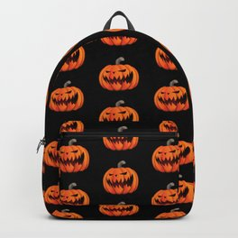Jack O' Lantern Halloween Pumpkin Backpack