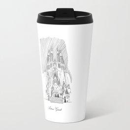 Antoni Gaudi Travel Mug