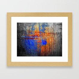 Hard Color Framed Art Print