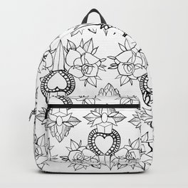 Tattoo design pattern Backpack