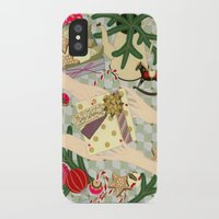 gift card iPhone & iPod Cases featuring Merry Christmas gift by Yuliya