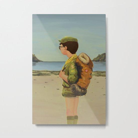 Scouting Metal Print