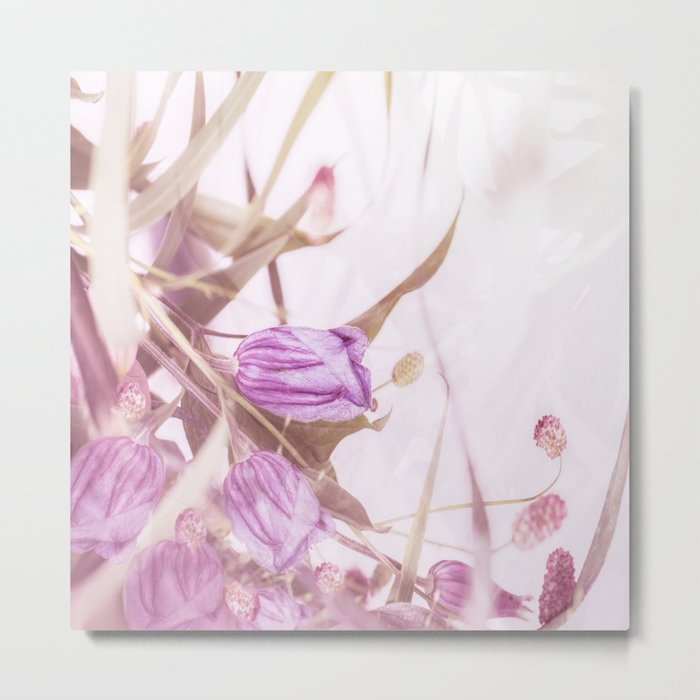 Autumn Bouquet In Purple Shades #society6 #buyart Metal Print