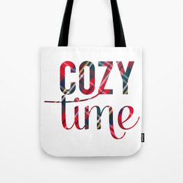 Cozy Time Tote Bag