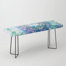 Mandala Splash Bench