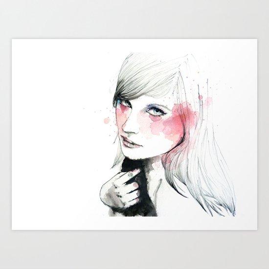 Ania Art Print