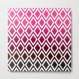 Dipped Pink Diamonds Metal Print