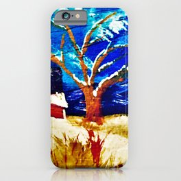 Winter In The Country iPhone Case