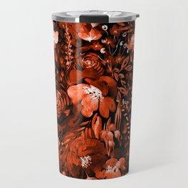 Floral Chaos - Fall Travel Mug