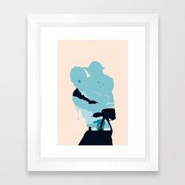 The Empire Strikes Back Framed Art Print