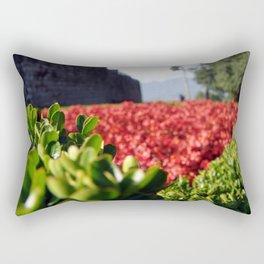 Monarch Flowers Rectangular Pillow