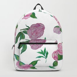 Peonies for loved ones Backpack
