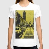 milan T-shirts featuring Milan 2 by Anand Brai
