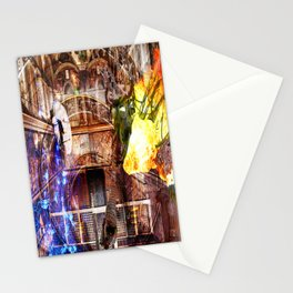 N-Glext Light and Dark Dispute Stationery Cards
