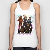 kendrawcandraw Tank Tops featuring Superlads by kendrawcandraw