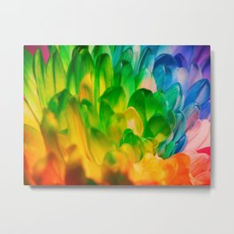 Rainbow Flower #1 Metal Print