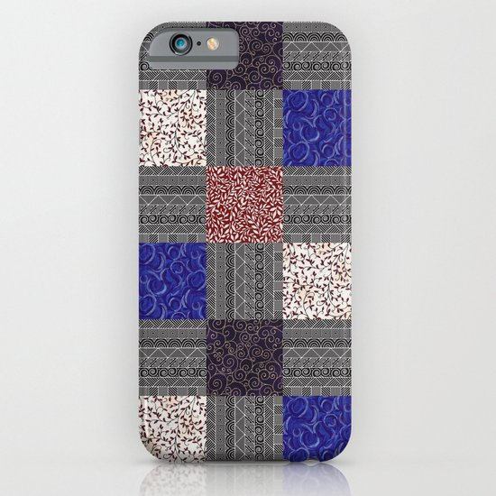 Patchwork Pattern iPhone & iPod Case