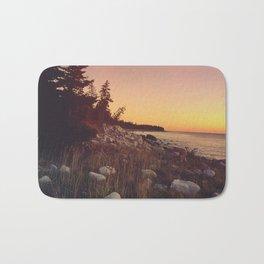 Sunset By the Sea Bath Mat