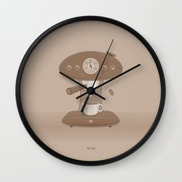 Coffee Maker Series - Automatic Espresso Machine Wall Clock