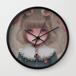 Juliette, balloons & pearls... Wall Clock