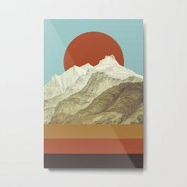 MTN Metal Print